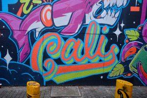 Graffiti art of the word Cali